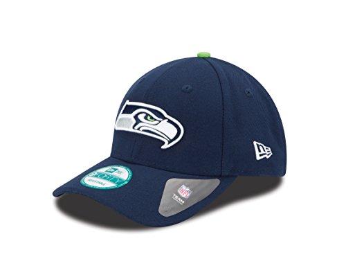 New Era 9FORTY NFL The League Seattle Seahawks Kappe, Blau, One Size (Nfl-seahawks Baseball-cap)