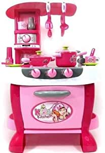 Buy Ad Enterprise Barbie Chef Kitchen Set Role Play Toys For Kids