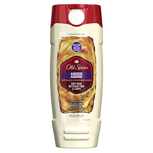 Old Spice Fresher Collection Men's Body Wash, Amber Scent, 16.0 Fluid Ounce by Old Spice Olds Spice Body Wash