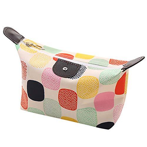 Kosmetiktaschen,bestshope Frauen Makeup Tasche Dumpling Kulturtasche Organizer Kleine Handtaschen Geldbörse Münzbörse Portemonnaie Reißverschluss Brieftasche Speicher Mäppchen Aufbewahrungstasche -