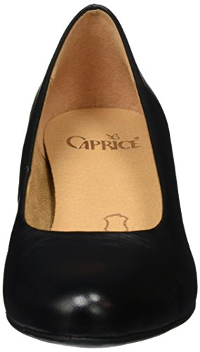 Caprice 22310, Escarpins Femme Noir (Black Nappa 022)