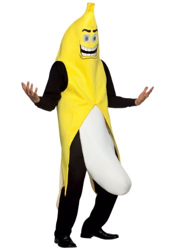 Kostüm Flasher - Kostüm aktionsbereite Banane - Standard