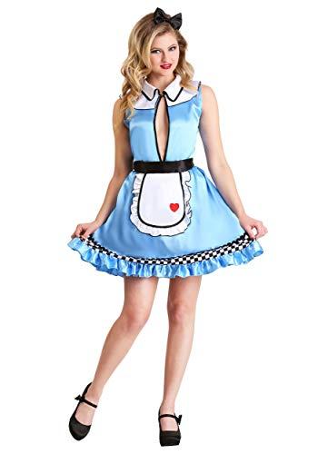 Rabbit Hole Kostüm - Womens Sweet Alice Fancy Dress Costume X-Large