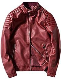sale retailer 525db fed44 Amazon.it: giubbotto ecopelle uomo - Uomo: Abbigliamento