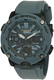 Casio G-Shock Mens Quartz Watch, Analog-Digital Display and Resin Strap - GA-2000SU-2ADR
