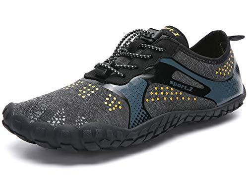 GJRRX Badeschuhe Strandschuhe Wasserschuhe Aquaschuhe Schwimmschuhe Surfschuhe Barfuß Schuhe für Damen Herren - Bahama Herren Schuhe