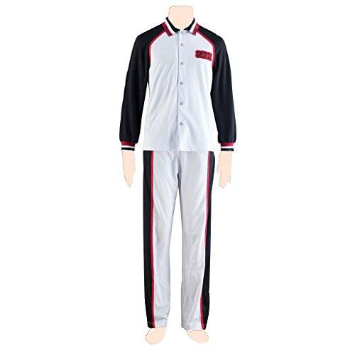 Kid Basketball Kostüm - Kuroko's Basketball Kostuem cosplay Long sleeved uniform 1st ver Kid Large