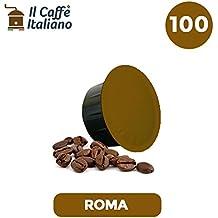 100 Cápsulas de Café compatibles Caffitaly - Mezcla Roma - Caffè italiano