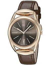 Gucci YA140408 Montre bracelet Femme Marron