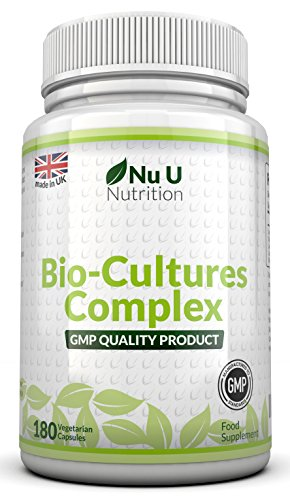 Probiotics 180 Capsules (6 month supply) by Nu U Nutrition Test
