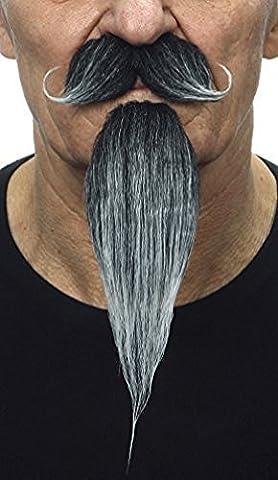 Moustache impérial et barbe grise Napoléon III