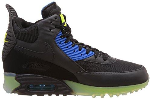 Nike Air Max 90 Sneakerboot Ice 684722 Herren High-Top Sneaker Schwarz - Schwarz