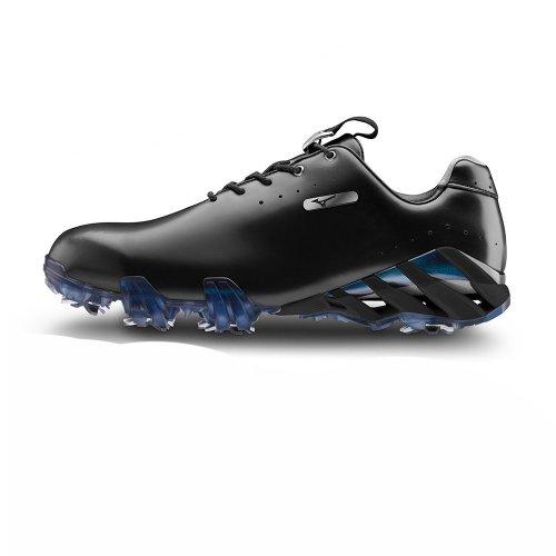 Mizuno Genem Elite Chaussures de golf pour homme noir Noir Size 7
