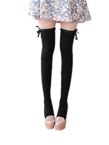 deley-de-la-mujer-de-la-cinta-de-arcos-sobre-los-calcetines-de-la-rodilla-de-alta-del-muslo-de-disfr