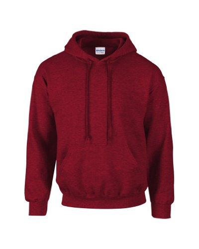 Gildan Kapuzen-Sweatshirt Antique Cherry Red