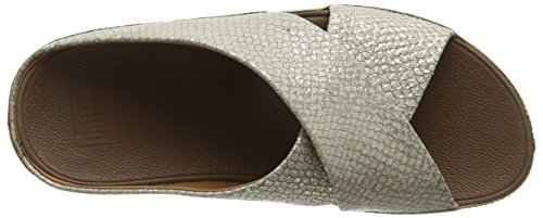FitFlop Kys Tm Damen Clogs & Pantoletten Silver (Silver 011)