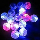 Cencity 100 Unidades por Lote 100 x Redondo LED Flash Bombilla Globo luz Larga Tiempo de Espera para Papel Linterna Globo luz Fiesta Boda Navidad decoración