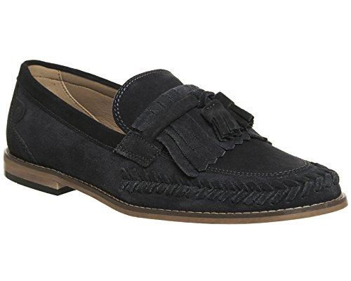 Hudson Herren Sneaker Marineblau (Veloursleder)