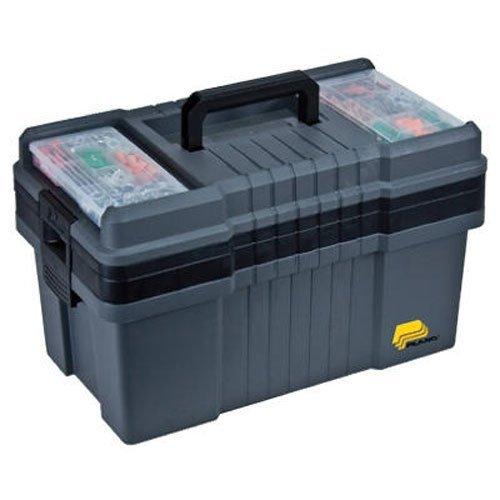 Plano 823-003Contractor Grade PO Serie 22Werkzeug Box, graphite grau, mit Schwarz Griffe und Riegel -