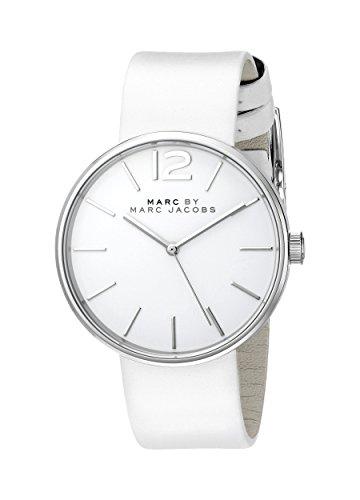 Marc Jacobs Peggy Reloj de Mujer Cuarzo 36mm Correa de Cuero Genuino MBM1361