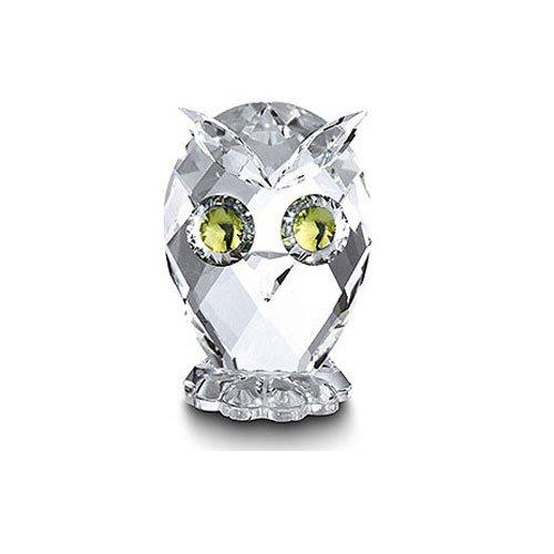 Swarovski Kristallfiguren Mini-Eule 10014