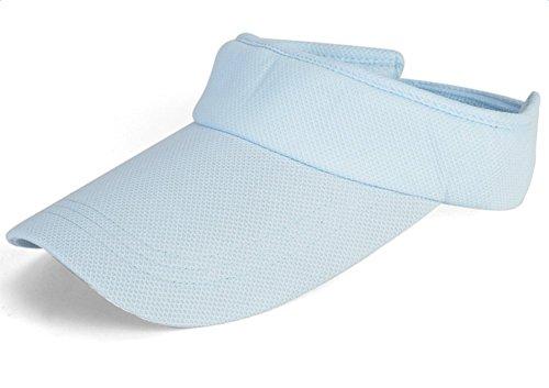 westeng Damen-Sonnenkappe, schlichte Schirmmütze für den Sommer, Strand, Golf, Tennis, Sport, Reisen Freizeit, mit UV-Sonnenschutz Medium blau