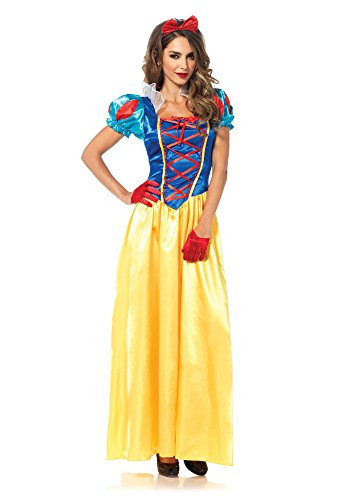 Leg Avenue 85407 - Klassische Schneewittchen Damen kostüm, Größe Medium (EUR (Zwerge 7 Halloween Kostüme Erwachsene Für)