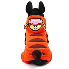 Idea Regalo - Runfon Abbigliamento Cane Cappotto con Cappuccio per Animali di ompagnie