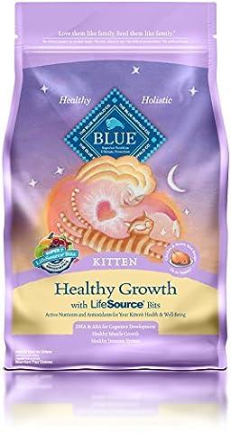 Blue Buffalo Kitten Formula Dry Cat Food, 7 lb Bag