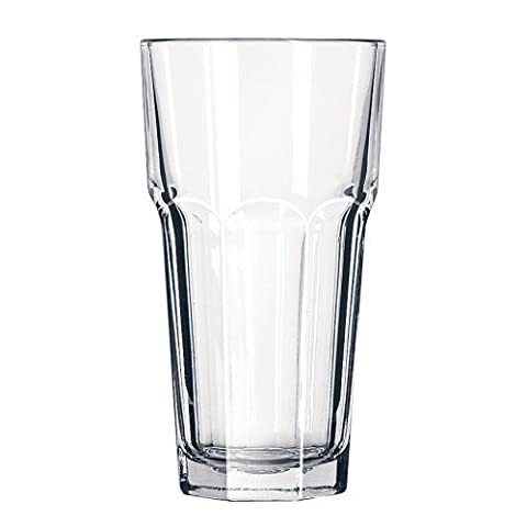 Gibraltar Original Tall Cooler Glasses 16oz / 470ml - Case of 12 | 47cl Hiball Glasses, Gibraltar Tumblers - DuraTuff Libbey