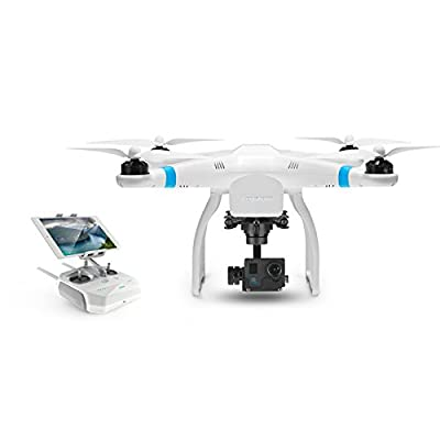 Keyshare GLINT2 RC RTF FPV Quadcopter Drone w/ 16M 4K HD Camera / 3 Axis Brushless Gimbal White by Keyshare