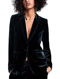 71c385a7e7 Amazon.it: Giacca Velluto Donna - Tailleur e giacche / Donna ...