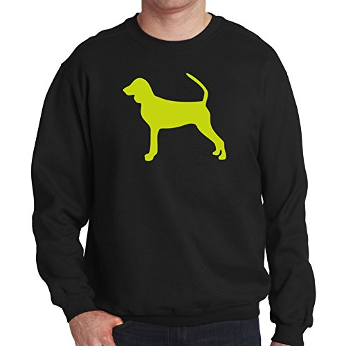 Felpa Black and Tan Coonhound silhouette - Coonhound Silhouette