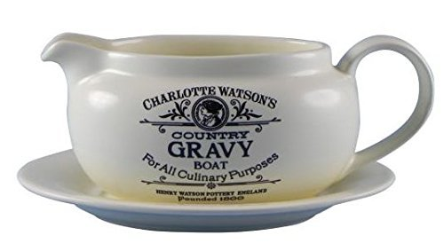 Charlotte Watson Gravy Boat With Saucer