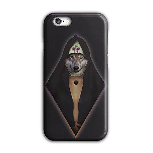 Wolf Modisch Drucken Mode Tier Zauberer iPhone 6 / 6S Hülle | Wellcoda (Weibliche Zauberer Kostüm)