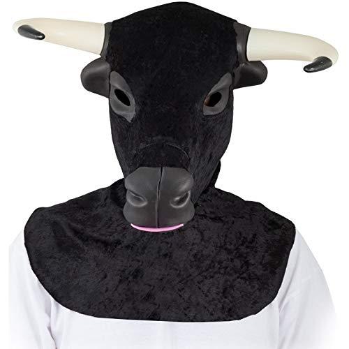 FIESTA Y CARNAVAL, SL Stier EVA-Schaum Maske für Ewachsene