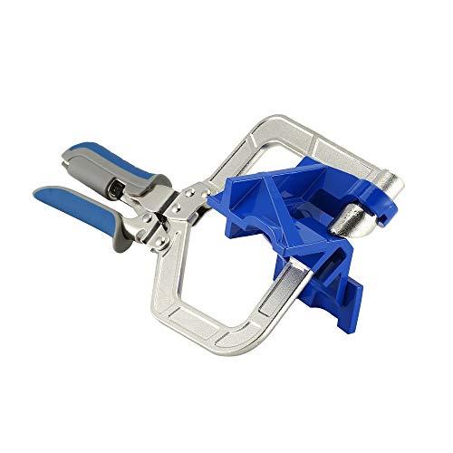 415V1USVC6L - BlakeSha36 Mitre Jigs Herramienta de Abrazadera de Esquina multifunción para carpintería Juntas en T para Kreg Jigs Blue