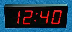 Grande horloge murale numérique à LED avec minuteur-Count Up/Down