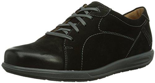 Ganter GRACY Weite G Damen Sneakers Schwarz (schwarz 0100)