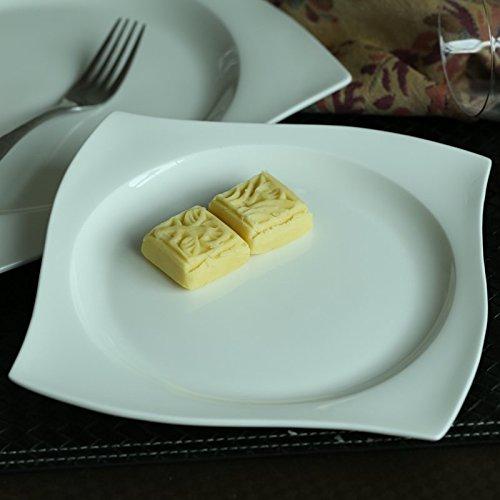 les-exportations-de-boeuf-de-louest-de-la-plaque-porcelaine-plat-carre-en-ceramique-plat-de-pates-pl