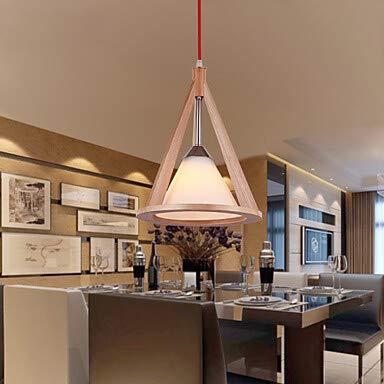 Designer-stil Anhänger (LPZSQ Designer Stil Holz Anhänger lightss Lampe Elegant und Modern im -Stil Anhänger lightss, 220-240V)