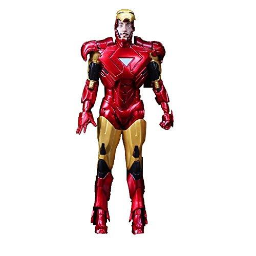 MODELSS Rächer, Iron Man-Actionfiguren, Ganzkörper-Aktivität - 6 Zoll, Modell Toy Boy