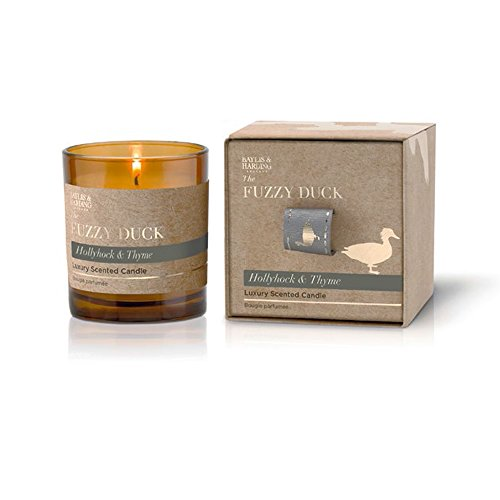 baylis-harding-fuzzy-duck-wick-candle-hollyhock-thyme-pack-of-1