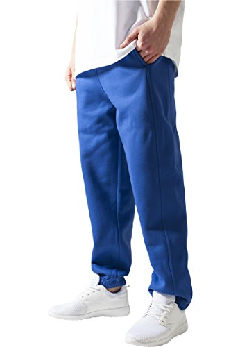 MAG Urban Classics TB014B Sweatpants Pantalone Tuta uomo Streetwear Blu Royal