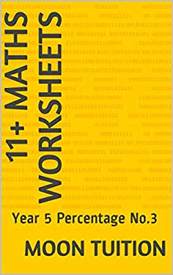11+ Maths Worksheets: Year 5 Percentage No.3