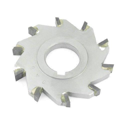 80mm x 27mm x 8mm 10Tooth Circular Schlitzung sah Drei Oberfläche Klinge Mühle Cutter