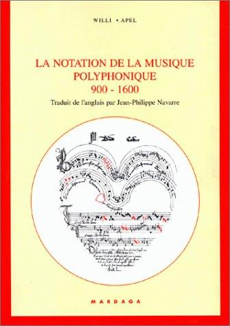 La notation de la musique polyphonique 9...