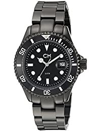 Carlo Monti Herren-Armbanduhr XL Varese Analog Edelstahl beschichtet CM507-622