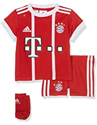 adidas Kinder Fc Bayern Heim Kit Trikot und Shorts