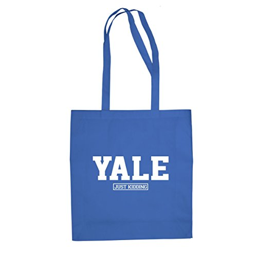 Yale Just Kiddung - Stofftasche / Beutel, Farbe: blau